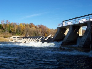 Dennys Dam; Saugeen River, Southampton