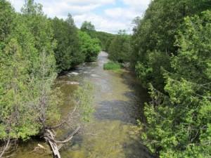 Rocky Saugeen River; Ontario