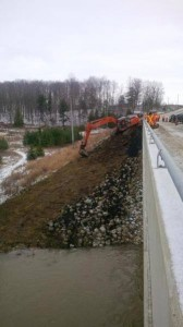 Saugeen River Asphalt Clean Up