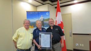 Darryl Rodney and Karl Fisheries Award