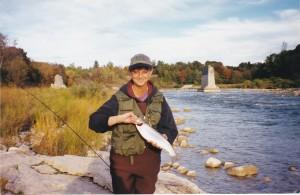 Jocelyne Campbell Saugeen River