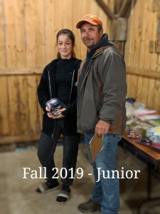 Fall 2019 Junior